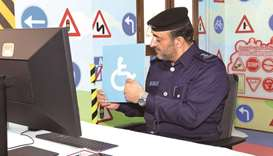 The programme covered various topics including the explanation of traffic signs, the legal age for s