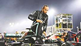 Lewis Hamilton has not won since his home British Grand Prix at Silverstone in July 2021.