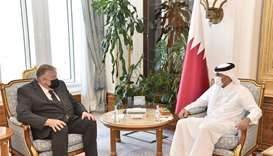 During the meeting, aspects of relations between Qatar and the European Union and prospects for stre