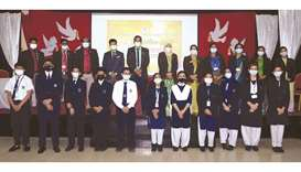 MES conducts inter-section quiz contest