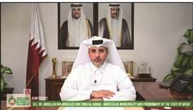 HE the Minister of Municipality and Environment and Acting Minister of Cabinet Affairs Dr Abdullah b
