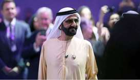 Prime Minister and Vice-President of the United Arab Emirates and ruler of Dubai Sheikh Mohammed bin