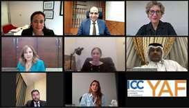 Participants of the webinar on 'Women in Alternative Dispute Resolution-Inspiration and Empowerment'