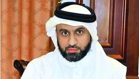 Director of Agriculture Affairs Department Yusuf Khalid al-Khulaifi