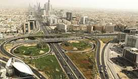 A general view in Riyadh. After the Covid-19 pandemic weighed on the economy, Saudi Arabia has retur
