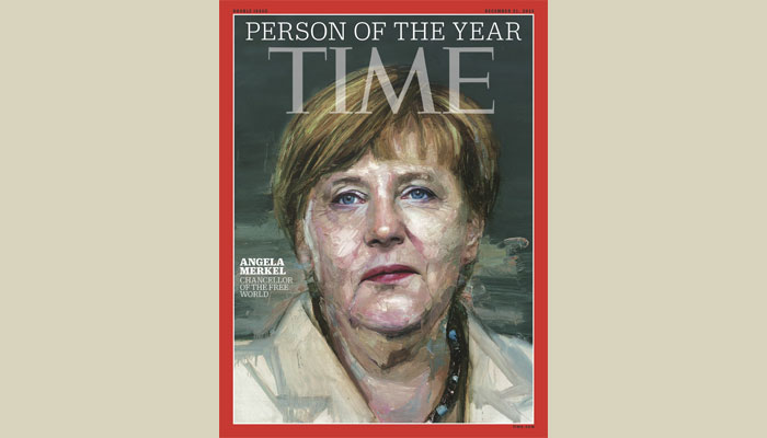 Time names Merkel as its 'person of 2015'