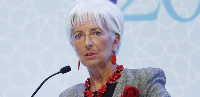 Lagarde says Fed must be sure of jobs and prices before moving