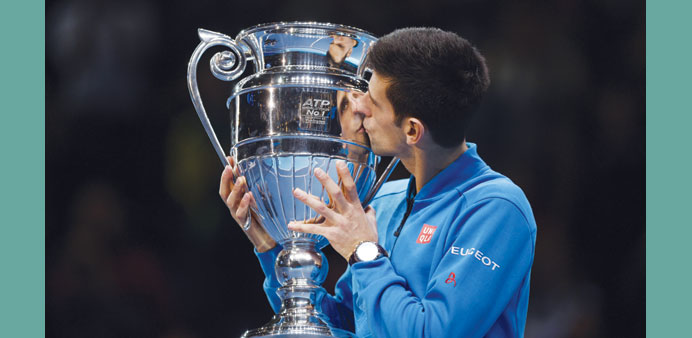 Williams and Djokovic named 'world champions'
