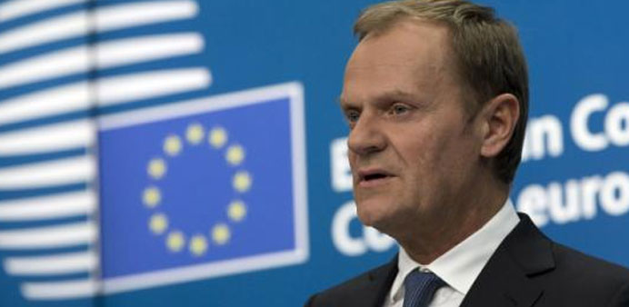 EU's Tusk warns of east-west divide on migrant crisis