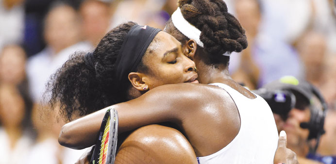 Calendar Slam is family Slam for sisters Serena and Venus