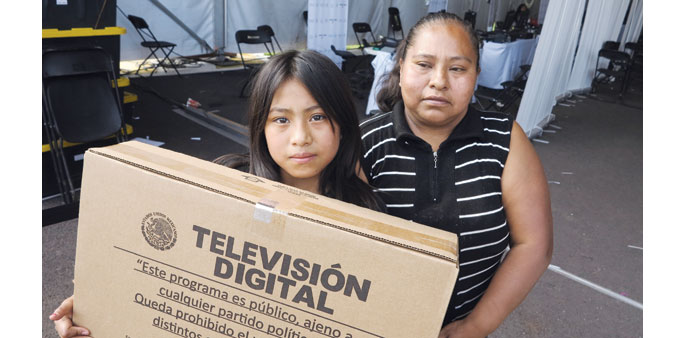 Mexico hands out free TVs to the poor in massive giveaway