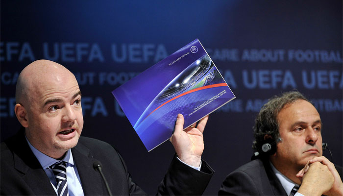 UEFA's Infantino to stand for FIFA presidency