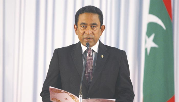 Maldives says parliament shut for security