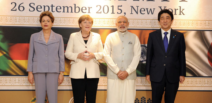 G4 stands for global peace, security: PM
