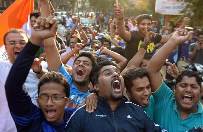 Euphoric Indian fans hail World Cup win over Pakistan