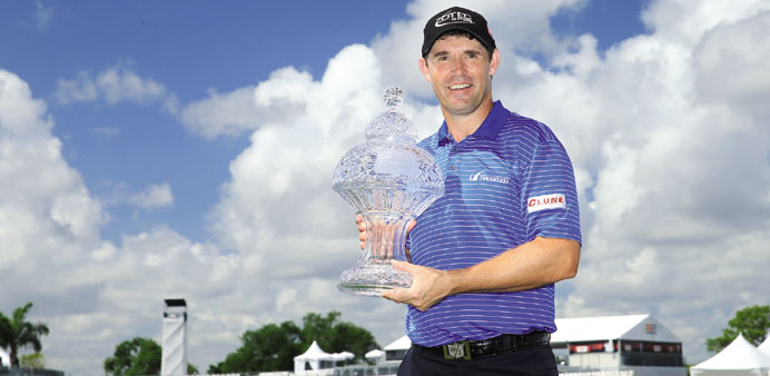 Harrington ends 7-year wait with Honda playoff win