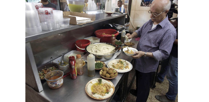 Food as a weapon: cuisine serves Palestinians' cause