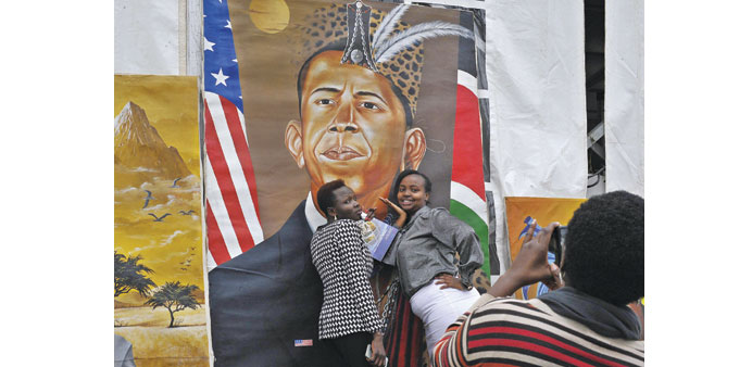 Kenyans get ready to welcome Obama