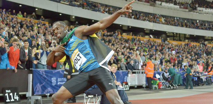 I am always number one and plan to stay on top till I retire: Bolt