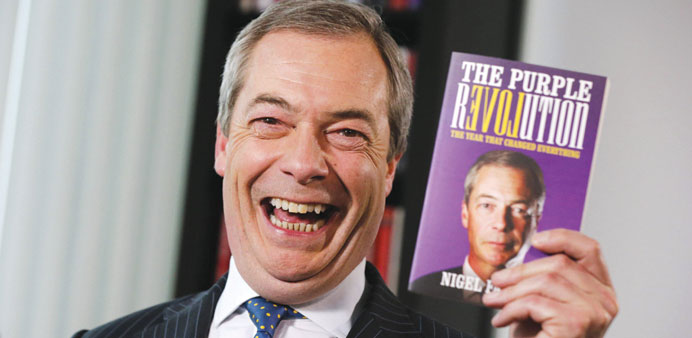Brace for a second election in '15: Farage