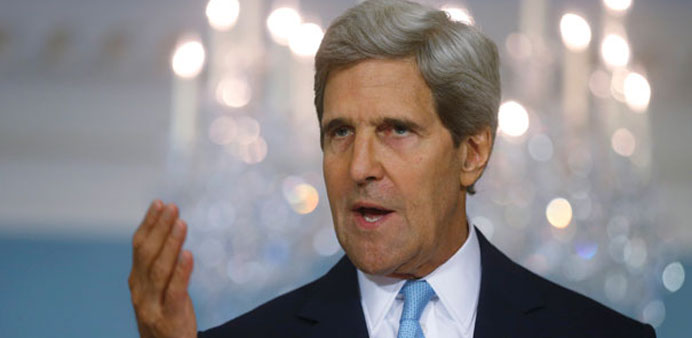 Kerry to meet Iran FM for crucial talks