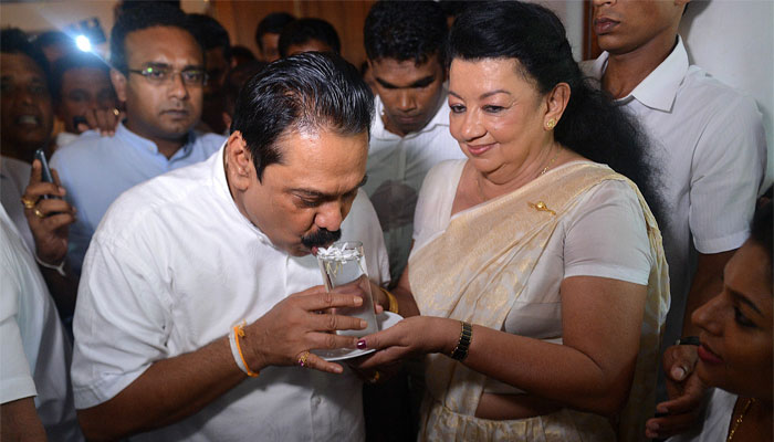 Sri Lanka's Rajapaksa to stand for Prime Minister in Aug 17 polls