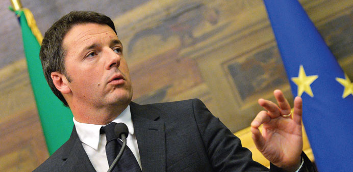 Italians vote in test for Renzi's reform agenda