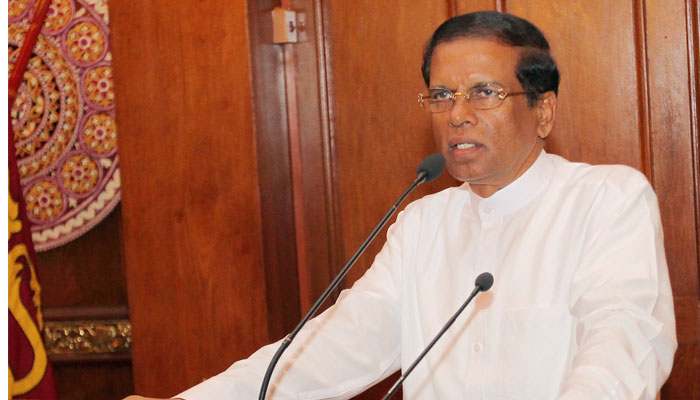 Sri Lanka president seeks talks to end power struggle