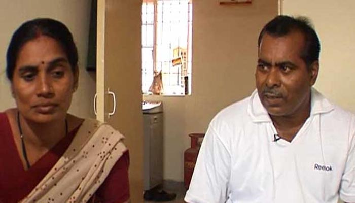 The parents of a 23-year-old student who was brutally assaulted on a bus in Delhi in 2012.