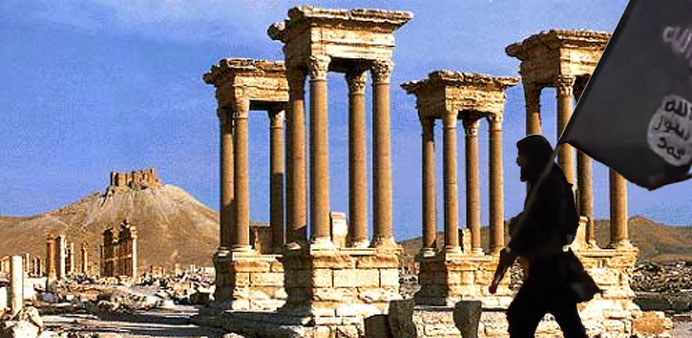 Islamic State fighters take over Syrian city of Palmyra