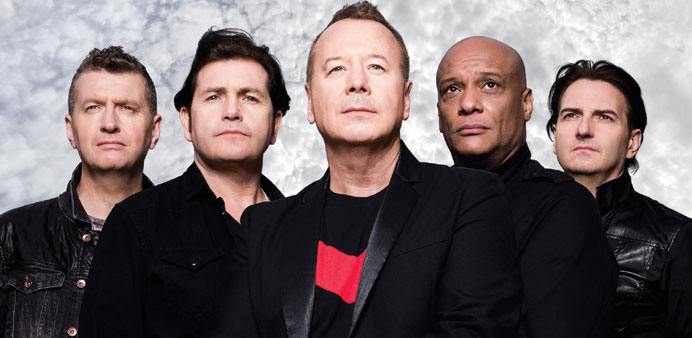 Simple Minds will perform after play on Friday, January 29, 2016, at the Doha Golf Club.