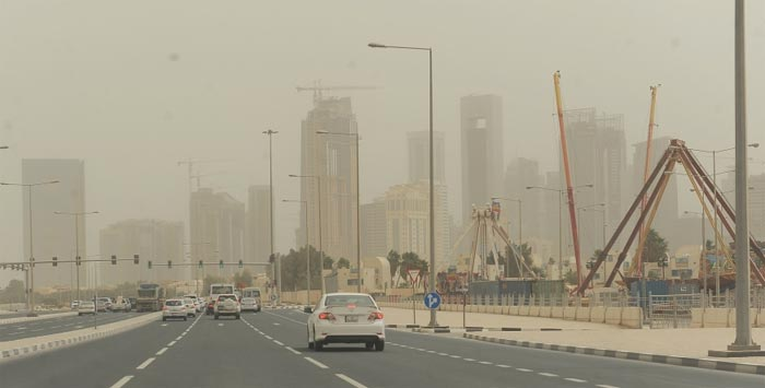 Repeat of severe sandstorm 'highly unlikely'