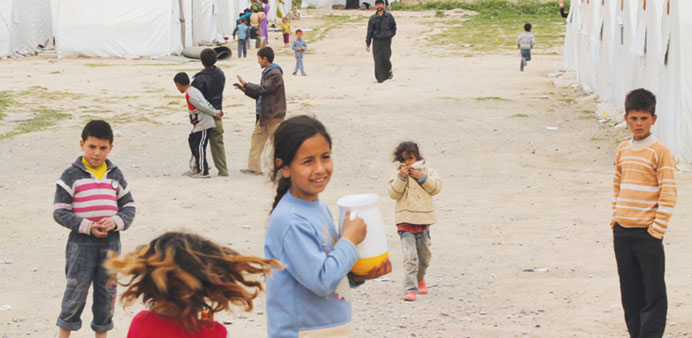 QRC teams up with World Vision to help Syrian refugees