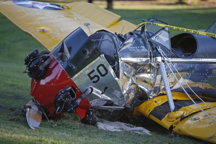 Actor Harrison Ford seriously injured in small-plane crash