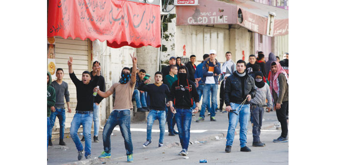 Palestinians tear-gassed on 10th anniversary of barrier protests