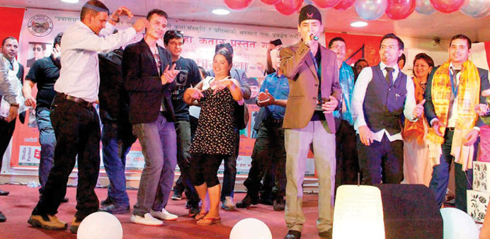 Cultural show marks Nepali festival of Tihar