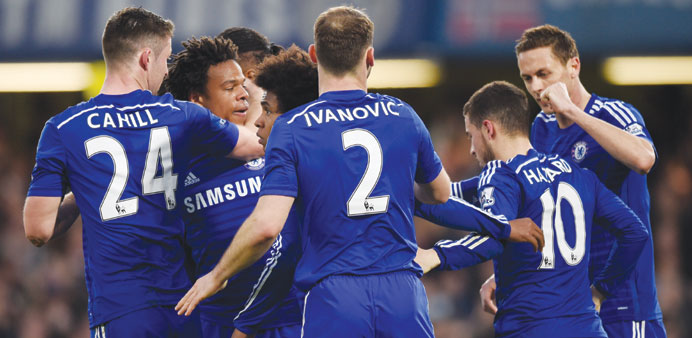 Chelsea unfazed by chasing pack or Adam stunner