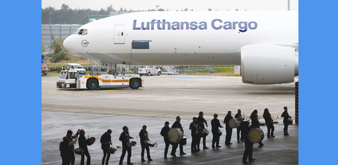 Lufthansa Cargo earnings rise on strong German exports