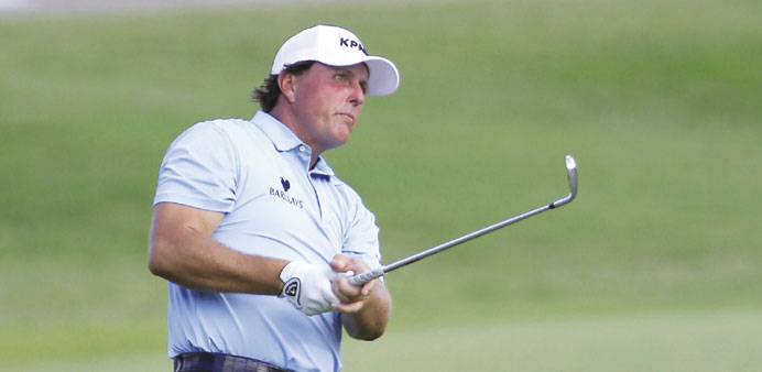 Mickelson: Game ready to complete grand slam