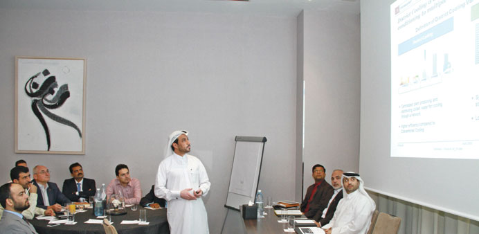 Kahramaa discusses district cooling norms with stakeholders