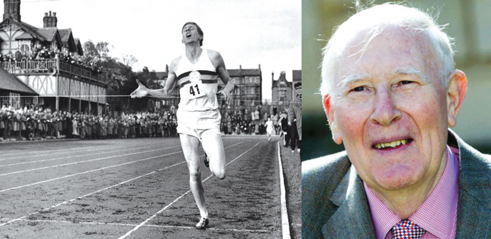Bannister turns clock back 60 years and still feels the thrill