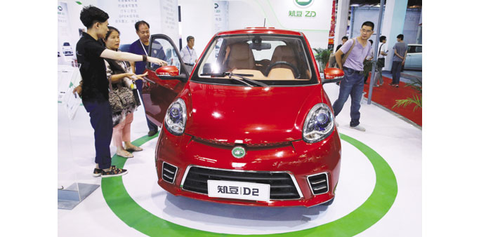 From big to strong: China sees competitive edge in green cars