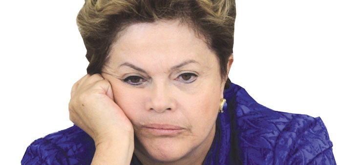 Advisers urge Rousseff to cancel America visit