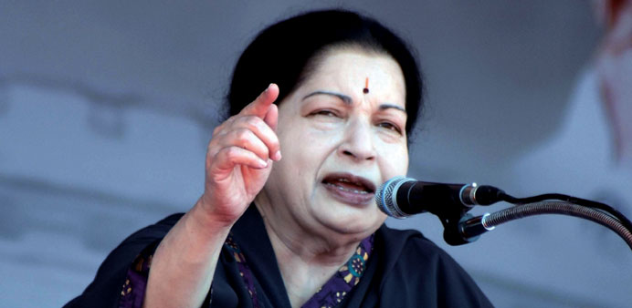 Jayalalithaa: seeking early restart