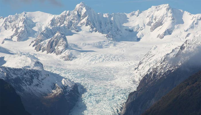 Fox Glacier is a popular South Island tourist site.