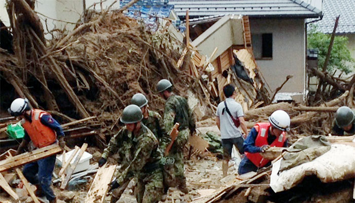 Death toll in Japan landslide rises to 27