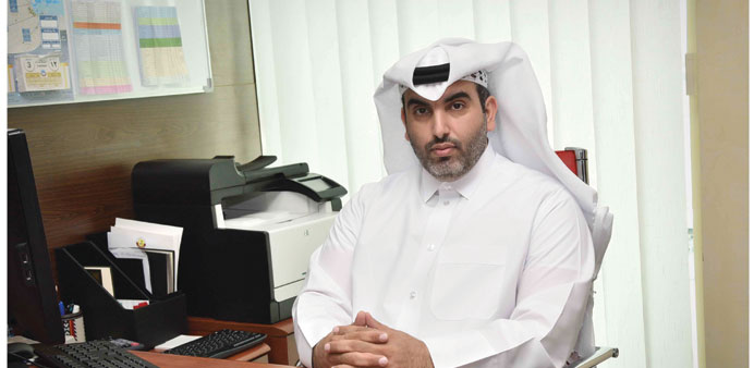 QTA exhibitions director Hamad al-Abdan.