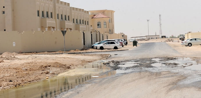 Sewage water causing trouble for Al Mashaf residents