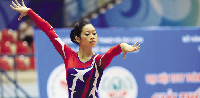 Vietnamese gymnast Thanh eyes big haul at SEA Games