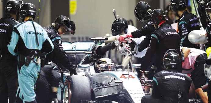 Mercedes drivers seeking reassurance at Suzuka